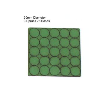 20mm Diameter Bases