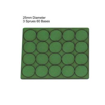 25mm Diameter Bases