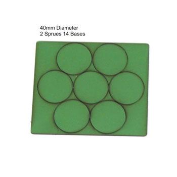 40mm Diameter Bases