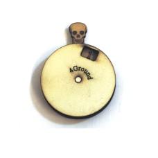 4Ground Skull Dial Turner