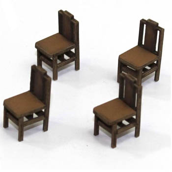 Square Back (B) Chair