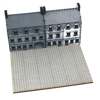 15mm Scale Flag Stone Plaza
