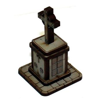 15mm Scale Memorial/Statue