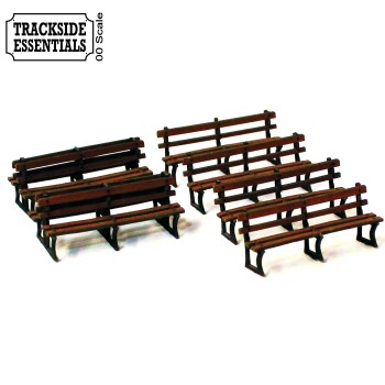 Cast Iron Frame Benches